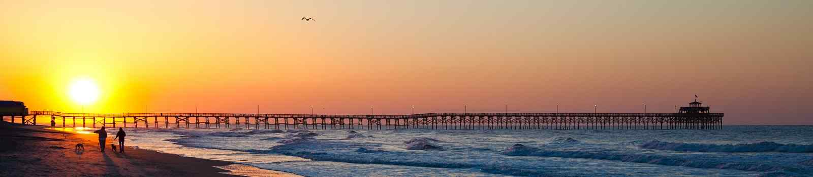 BEST-OF-SOUTH-CAROLINA  Suedstaaten SC pier North Myrtle Beach 115907683