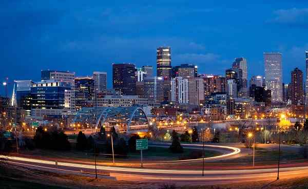 COLORADOS-HOEHEPUNKTE Colorado Denver Skyline 158047118