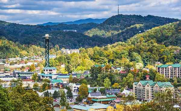 GEORGIA-PERLE-SUEDEN Tennessee Gatlinburg Smocky Mountains 161158970