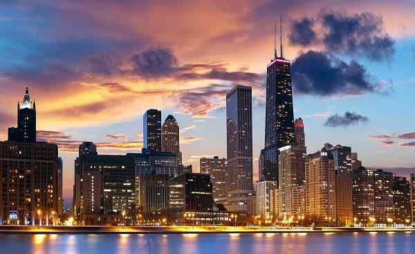 JAZZ-BLUES-ROCKN-ROLL Chicago Skyline 84639565