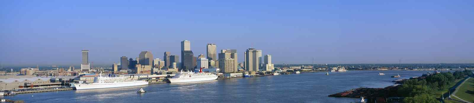 LOUISANA-RUNDREISE  New Orleans Skyline 177803234