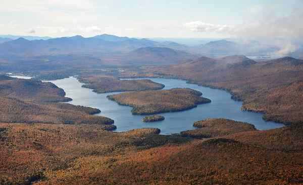 NEUENGLAND-NY-SEEN NY Lake Placid Herbst 63893038